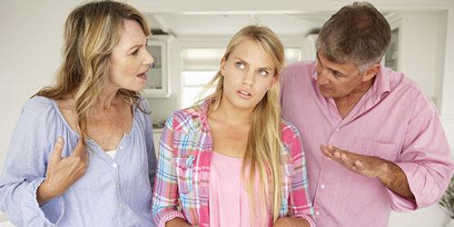 наставления родителей
