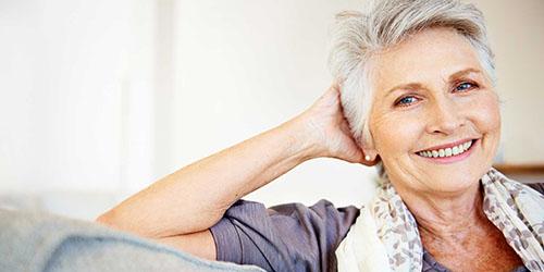 женщина в возрасте