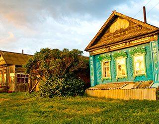 Дом умершей бабушки