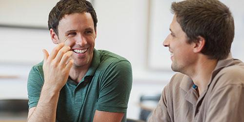 разговор двух мужчин