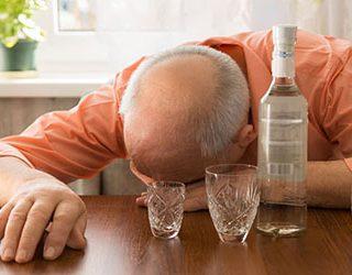 Умерший пьяный отец