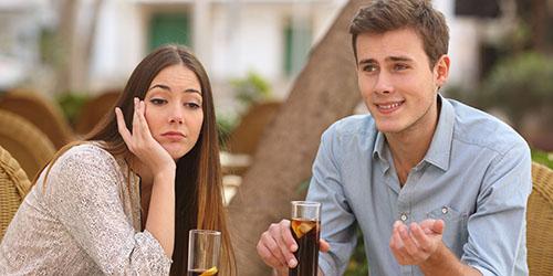 скучное свидание