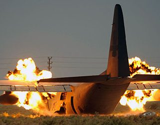 Сонник горящий самолет