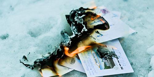горящие письма