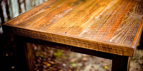 пустой стол