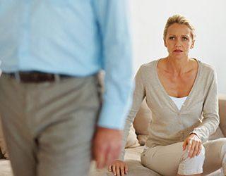 Расставание с мужем