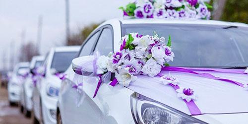 свадебная автоколонна