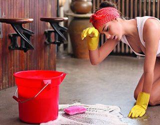 Мыть полы