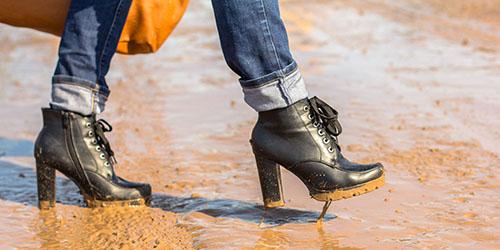 грязь на улице