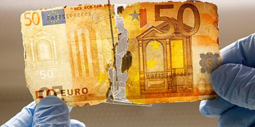 рваная валюта
