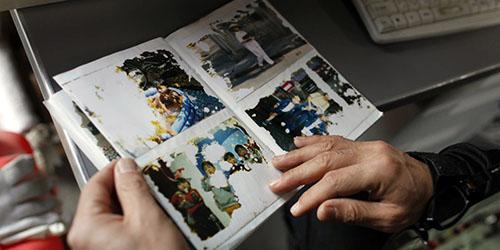 фотографии в альбоме