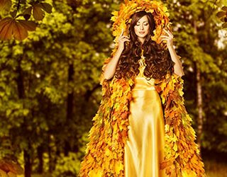 Сонник золотое платье