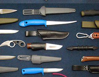 Много ножей