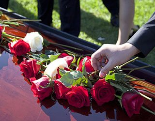 Похороны жены