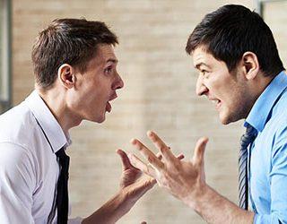 Ссора с человеком