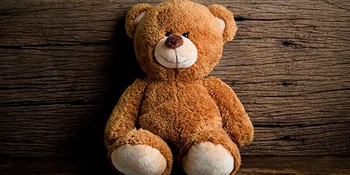 медвежонок из плюша