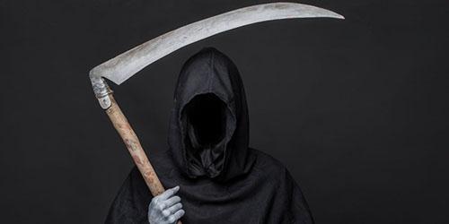 приснился кошмар и смерть с косой