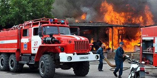 Видеть во сне пожарную машину