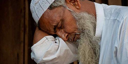 Спящий мусульманин